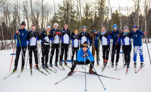 CSS skiers on their home course in Duluth