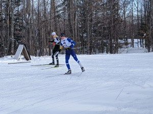 CSS's Gus Schatzlein and NMU's Matt Bourne battling it out in the finish