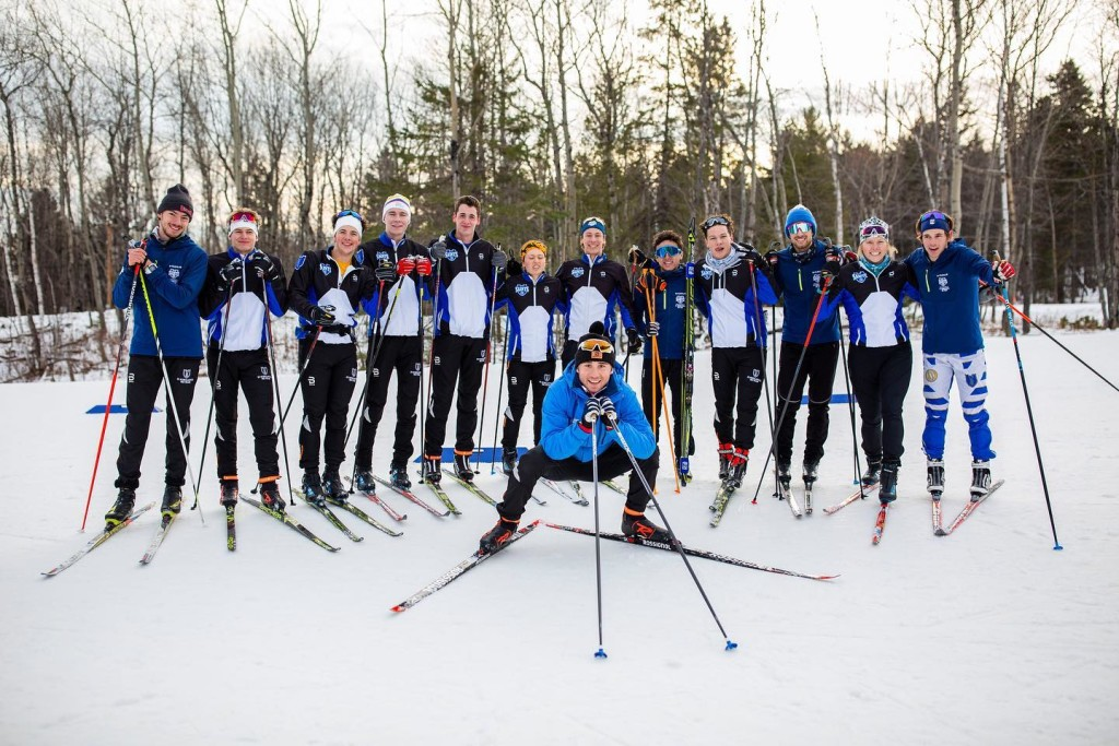Members of the CSS Ski team earlier this winter (CSS Ski Team facebook page)