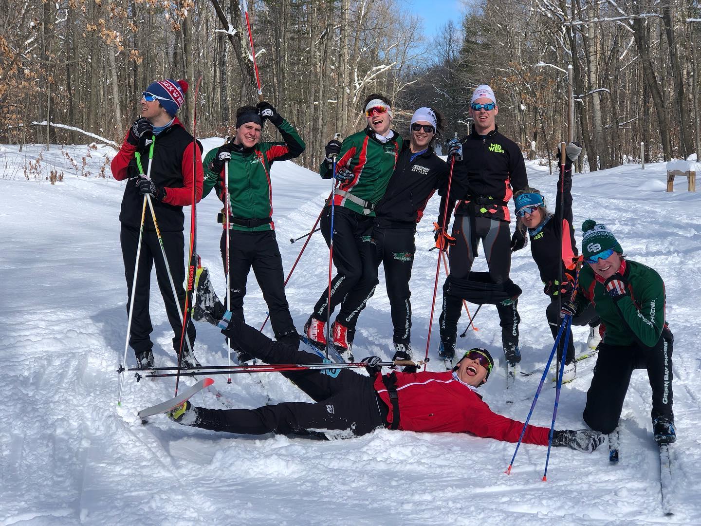 GB Team enjoying themselves last winter